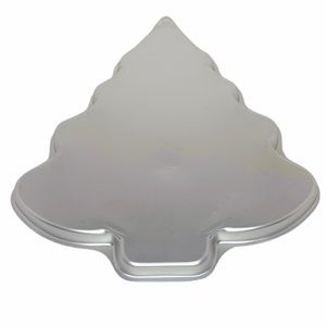 WILTON Christmas tree shaped cookie pan